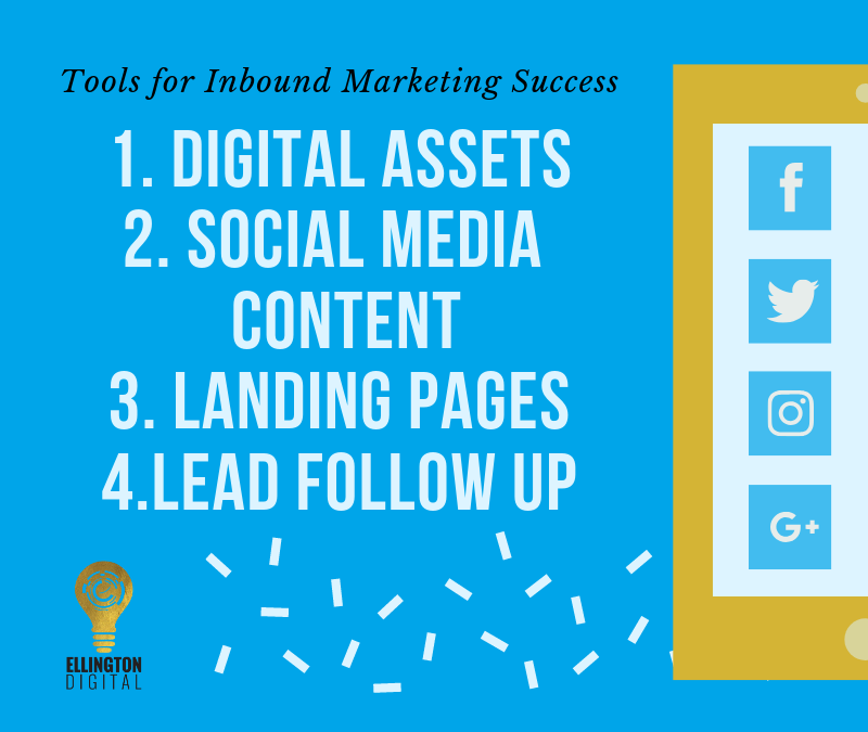 The inbound tools needed to generate leads through digital marketing